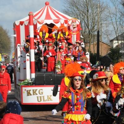 Karneval in Kelmis Karnevalswagen KKG Ulk