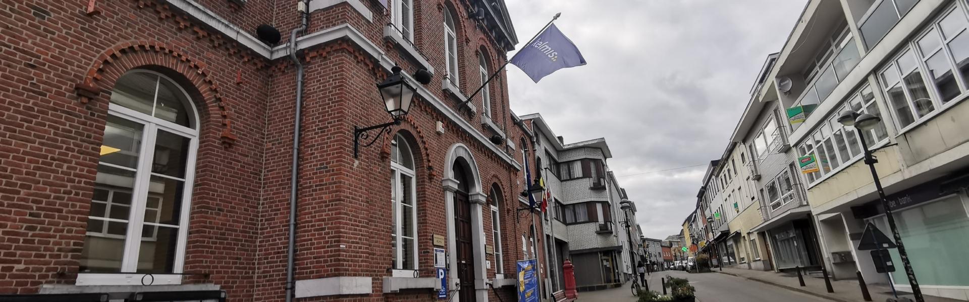 Das Gemeindehaus in Kelmis