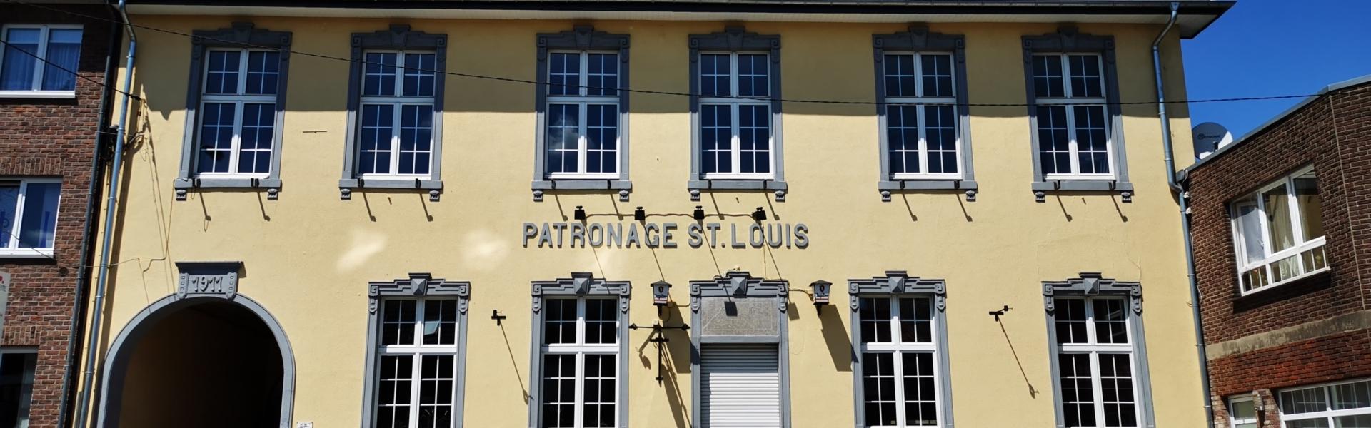 Patronage in Kelmis Fassadenansicht