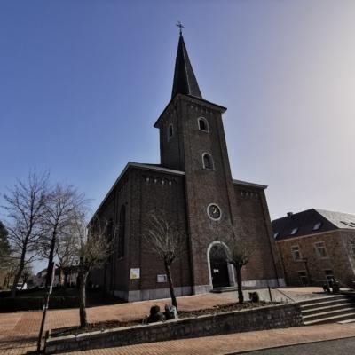 Die Kirche in Hergenrath