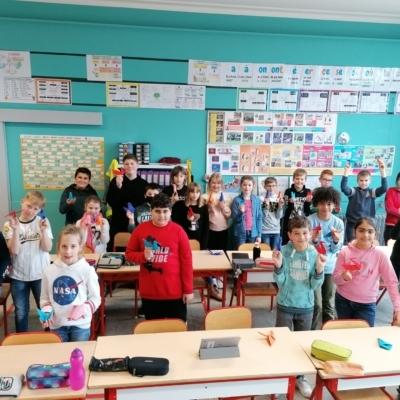 Schulfoto von Kindern der Primarschule Kelmis