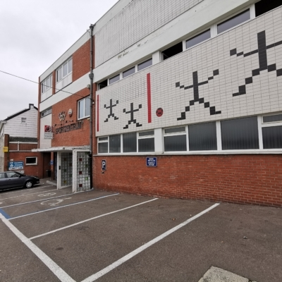 Sportzentrum Kelmis Fassadenansicht