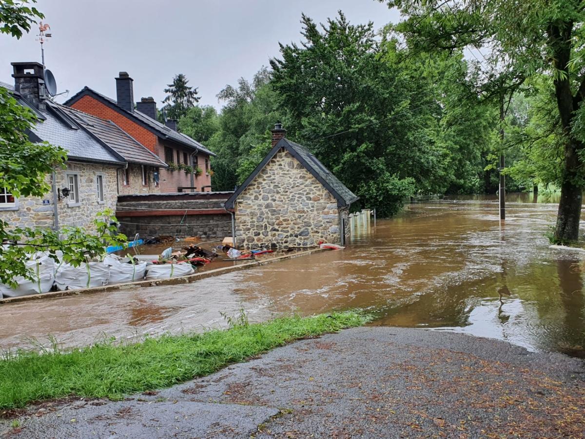 Hochwasser: Kelmis bietet Eupen und Raeren Hilfe an