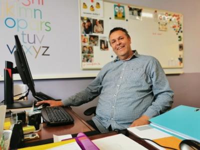 André Bulkaert est le nouveau directeur de l'école communale de La Calamine