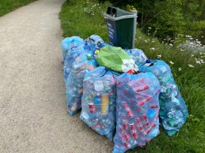 Appel à témoins : déchets déposés illégalement à l'étang du Casino