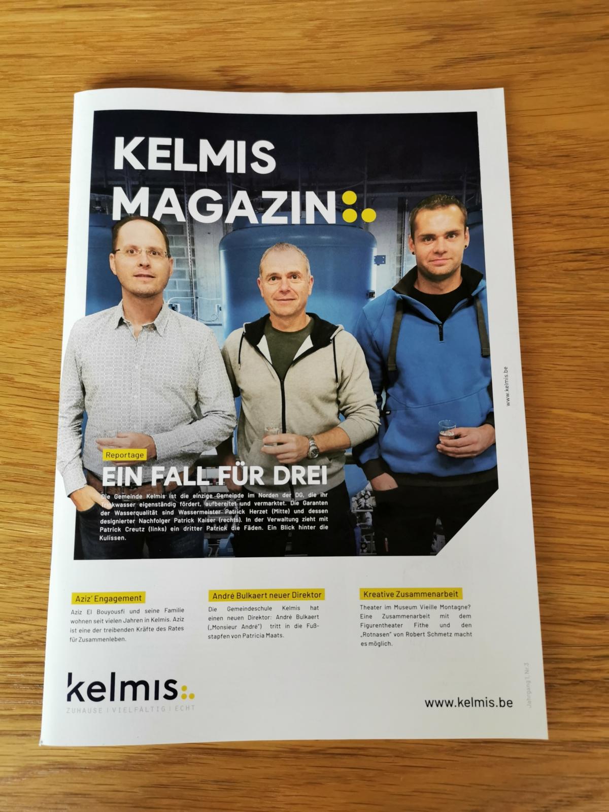 """Nummer drei des """"Kelmis Magazins"""" jetzt online – Verteilung ab morgen"""