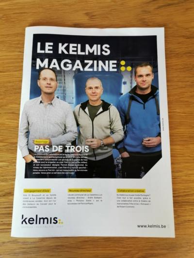 Le numéro trois du « Kelmis magazine » est en ligne – Distribution à partir de demain