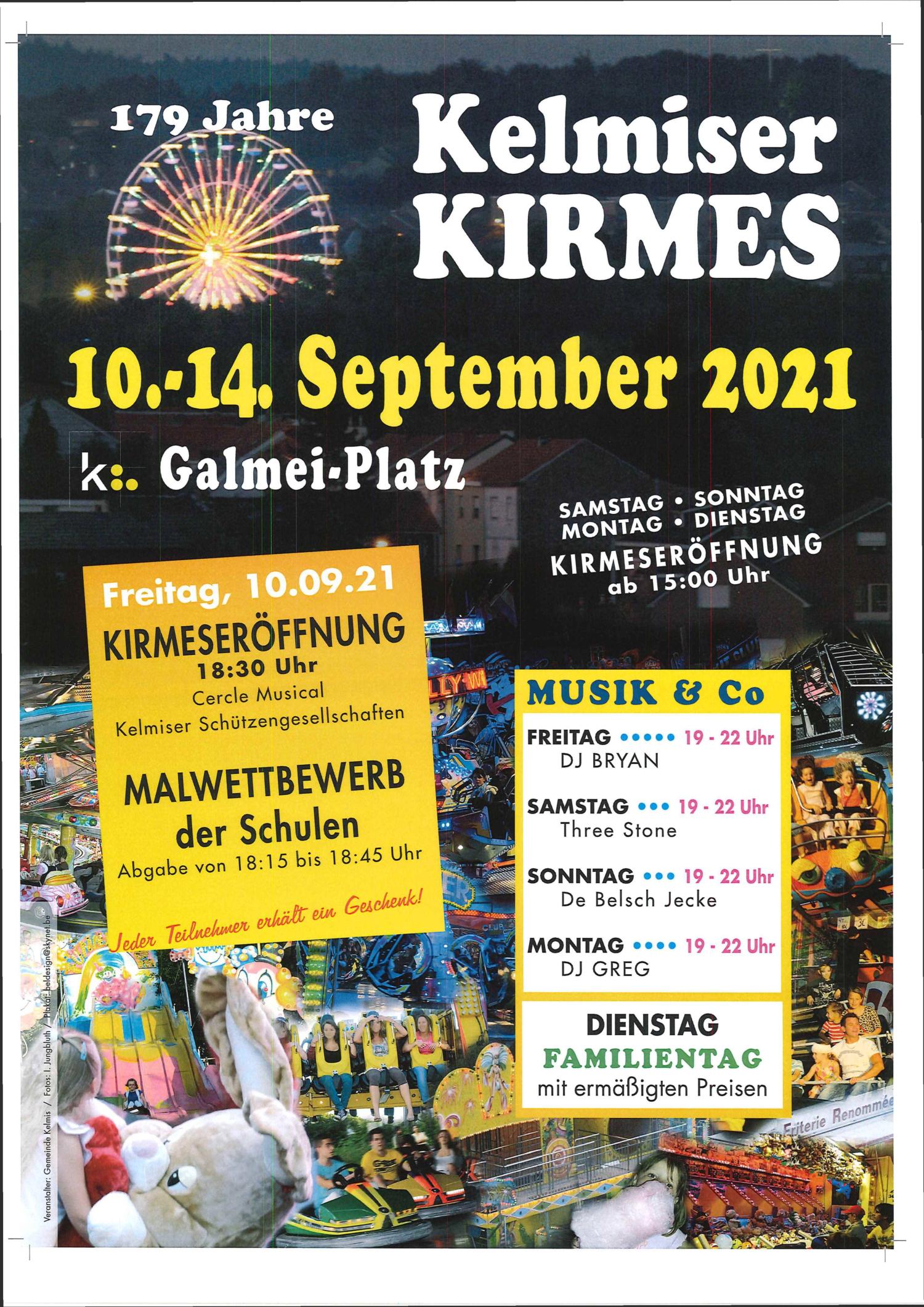 Kermesse du 10 au 14 septembre